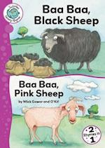 Baa Baa, Black Sheep and Baa Baa, Pink Sheep (Tadpoles Nursery Rhymes, nr. 38)