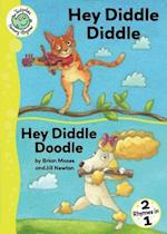 Hey Diddle Diddle and Hey Diddle Doodle (Tadpoles Nursery Rhymes, nr. 39)