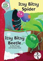 Itsy Bitsy Spider and Itsy Bitsy Beetle (Tadpoles Nursery Rhymes, nr. 41)
