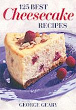 125 Best Cheesecake Recipes af George Geary
