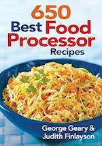 650 Best Food Processor Recipes af George Geary