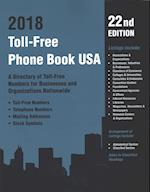 Toll Free Directory 2018 (TOLL FREE PHONE BOOK USA)