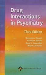 Drug Interactions in Psychiatry