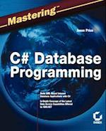 Mastering C# Database Programming (Mastering)