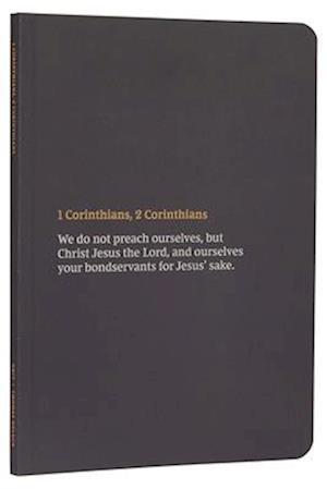 NKJV Bible Journal - 1-2 Corinthians, Paperback, Comfort Print