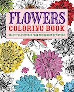 Flowers Adult Coloring Book (Arcturus Coloring Books)