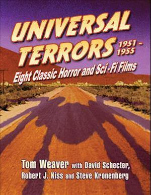 Bog, paperback Universal Terrors, 1951-1955 af Tom Weaver, David Schecter, Robert J. Kiss