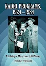 Radio Programs, 1924-1984