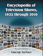 Encyclopedia of Television Shows, 1925 Through 2010
