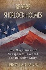 Before Sherlock Holmes af LeRoy Lad Panek