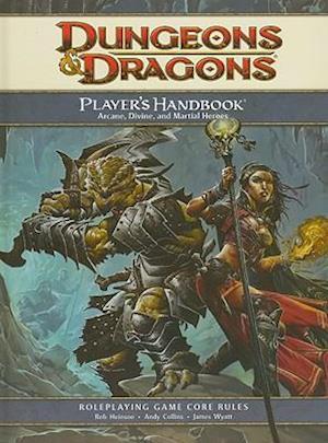 Bog, hardback Player's Handbook af Rob Heinsoo, Wizards RPG Team, James Wyatt