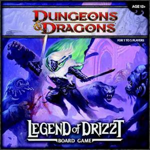 Bog, ukendt format Legend of Drizzt af Wizards RPG Team