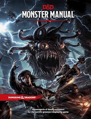 Bog hardback Monster Manual af Wizards Rpg