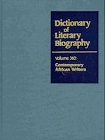 Dictionary of Literary Biography (DICTIONARY OF LITERARY BIOGRAPHY, nr. 360)