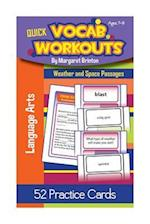 Quick Vocab Workouts Practice Cards af Margaret Brinton