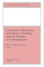 Consumers, Adversaries, and Partners (NEW DIRECTIONS FOR STUDENT SERVICES, nr. 94)