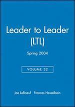 Leader to Leader (LTL) (J-b Leader to Leader Institute/Pf Drucker Foundation)