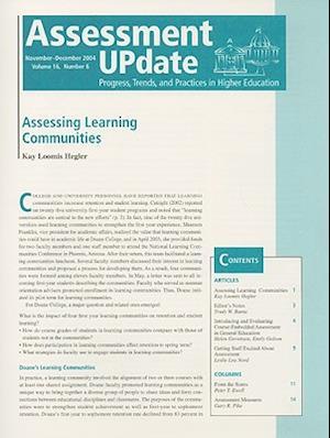 Assessment Update Volume 16, Number 2 2004