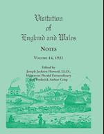 Visitation of England and Wales Notes: Volume 14, 1921