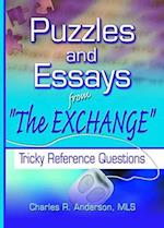 Puzzles and Essays from 'The Exchange' (Haworth Cataloging & Classification)