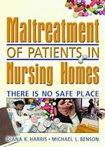 Maltreatment of Patients in Nursing Homes af Harold G. Koenig, Diana Harris