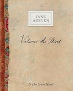 Volume the Third by Jane Austen (Jane Austen in Her Own Hand, nr. 3)