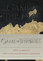 Game of Thrones Executive 2017 Calendar af Hbo