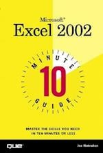 10 Minute Guide to Microsoft Excel 2002 (10 Minute Guides Computer Books)