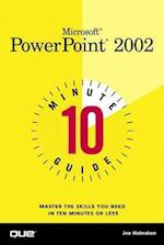 10 Minute Guide to Microsoft PowerPoint 2002 (10 Minute Guides Computer Books)