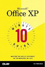 10 Minute Guide to Microsoft Office XP (10 Minute Guides Computer Books)