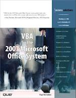 VBA for the 2007 Microsoft Office System (Business Solutions)
