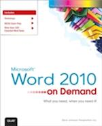 Microsoft Word 2010 on Demand af Steve Johnson, Perspection Inc