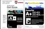 CompTIA A+ 220-801 and 220-802 Cert Guide, Deluxe Edition with MyITCertificationLab with Pearson eText and Amplified Bundle, v5.9 af Mark Edward Soper