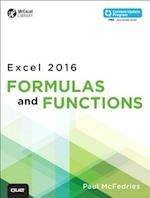 Excel 2016 Formulas and Functions (MrExcel Library)
