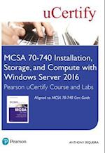 McSa 70-740 Pearson Ucertify Course and Labs Access Card (Certification Guide)
