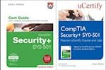 Comptia Security+ Sy0-501 Pearson Ucertify Course and Labs and Textbook Bundle (Certification Guide)