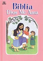 Biblia Dios Me Ama Rosa