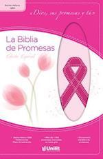 Biblia de Prom Piel Rosa ACA-Cncer