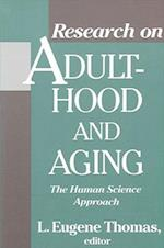 Research on Adulthood and Aging (Suny Series in Aging)