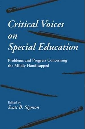 Critical Voices on Special Education