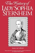 The History of Lady Sophia Sternheim (SUNY SERIES, WOMEN WRITERS IN TRANSLATION)