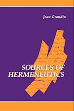 Sources of Hermeneutics (SUNY Series in Contemporary Continental Philosophy Paperback)