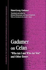 Gadamer on Celan af Hans-Georg Gadamer