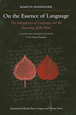 On The Essence Of Language (Suny Series in Contemporary Continental Philosophy)