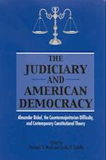The Judiciary and American Democracy (Suny Series in American Constitutionalism)