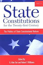 State Constitutions for the Twenty-first Century, Volume 1 (Suny Series in American Constitutionalism)