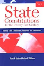 State Constitutions for the Twenty-first Century, Volume 2 (Suny Series in American Constitutionalism)