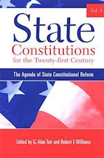 State Constitutions for the Twenty-first Century, Volume 3 (Suny Series in American Constitutionalism)