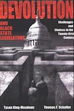 Devolution and Black State Legislators (Suny Series in African American Studies)