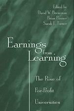 Earnings from Learning (Suny Series, Frontiers in Education)